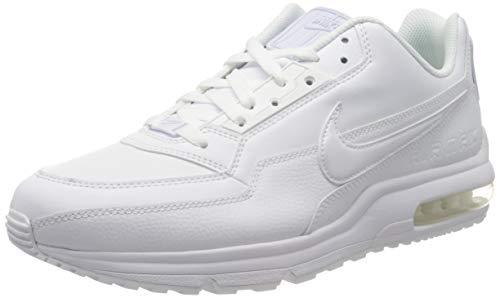 Nike Mens Air Max Ltd 3 Sneaker, White White White, 44.5 EU 1