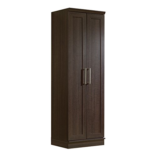 Sauder HomePlus Basic Storage Cabinet, Dakota Oak Kitchen Storage Pantry Cabinet