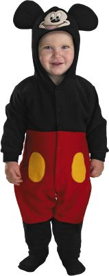 Mickey Mouse INFANT Costume - Baby (Newborn Mickey Mouse Costume)