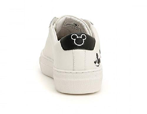 Of Disney N°38 Topolino White Master Victoria Sneakers Arts Bianco Donna Moa 5n1v6v