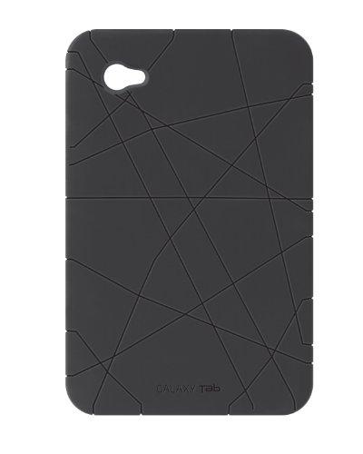 (Samsung Galaxy Tab 7.0 Silicone Protective Cover Case - Black)