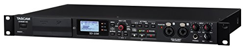 (Tascam SD-20M Rackmount Solid State Audio Recorder with XLR Mic Inputs)