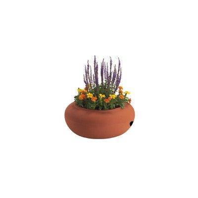 - Akro-Mils Garden Hose Storage Pot Terra Cotta