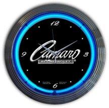 Camaro Neon Clock - Alabama Neon Clock