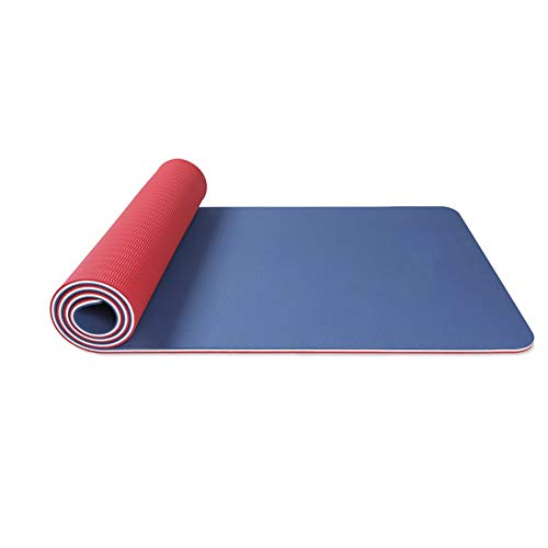 Yoga mat Non-Slip Carry Fitness Mat SGS Indoor Motion 10mm Tasteless Waterproof Light Three Layers of Color 183cm66cm