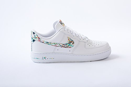 the latest 0ca09 eeb22 Amazon.com  Nike Air Force 1 low AF1 Custom spring splatter Edition by opc  kicks  Handmade