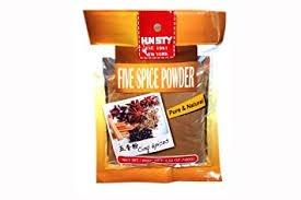 Five Spice Powder 3.52 OZ (5 Packs) by five spice