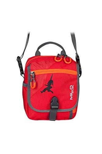 Milo Unisex's Taro Shoulder Bag, Red/Orange, One Size