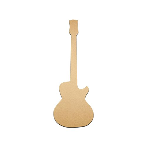 Small 24″ Single Cut Les Paul Guitar Unfinished DIY Wood Craft To Sell Wood Wooden Cutout