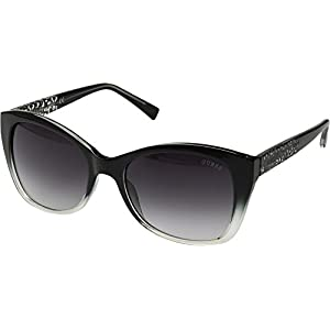 GUESS Unisex GF6019 Black/Other/Gradient Smoke Sunglasses