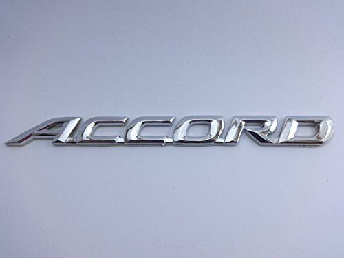 Accord Emblem Badge Car Accessories with chrome effect and 3M Adhesive