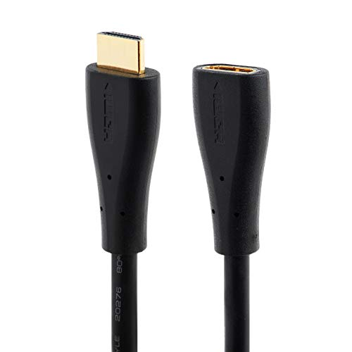 CABLESETC HDMI Extension Cable Adapter To Increase Length