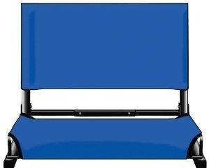 Skipjack Wood - Royal Blue Stadium Chairs