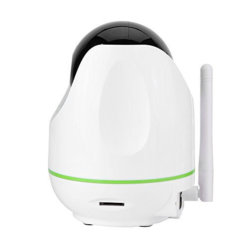 Video Baby Monitor,Fosa 720P HD WiFi Wireless Home Remote Security Camera Night Vision IR-Cut P/T Webcam(White) by fosa (Image #2)