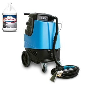 Mytee HP120 Grand Prix Heated Carpet Extractor and One Case (4 Gallons) of Mo' Power Carpet & Upholstery Extraction Cleaner - Bundle 2 - Wetsuit Comparison