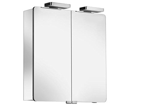 Keuco Spiegelschrank Elegance 21602, sil-elox, 700x760x169mm, 21602171301