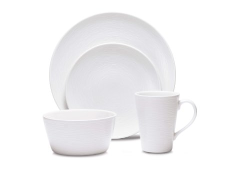 - Noritake WoW Swirl 4-Piece Place Setting
