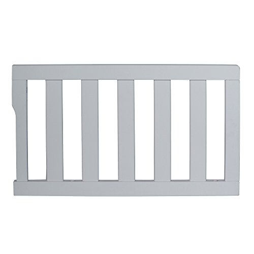 - Dream On Me Universal Convertible Crib Toddler Guard Rail, Pebble Gray