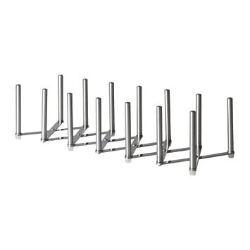 IKEA VARIERA - Pot organizador de tapa, de acero inoxidable: Amazon.es: Hogar