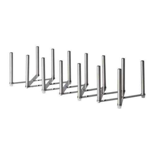 Ikea, Variera, supporto per pentole, padelle e coperchi. Confezione originale Silver 1419-701-548-00-2