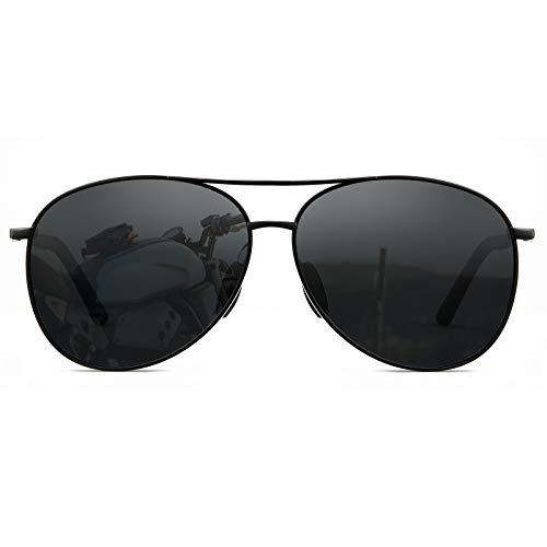 Cyxus Polarized Aviator Sunglasses for Men Classic Mirrored Lens UV Protection