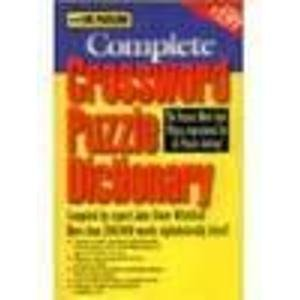 The Puzzlers Complete Crossword Puzzle (Complete Crossword Puzzle)