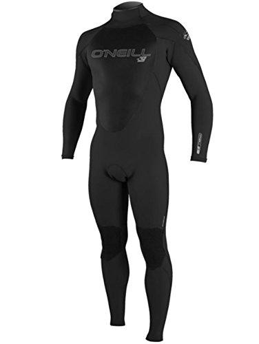 O'Neill Wetsuits Men's Epic 4/3mm Back Zip Full Wetsuit (Large Short)