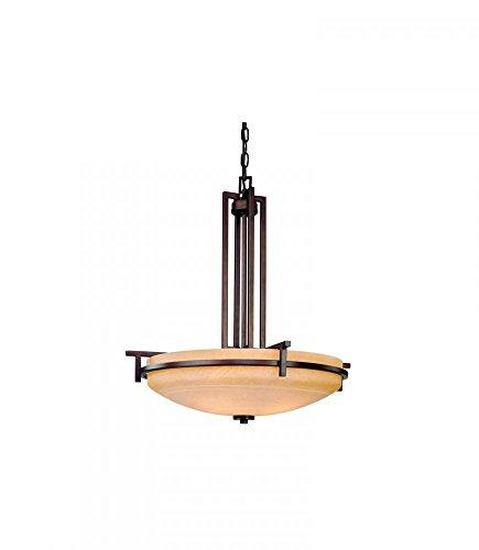 (Dolan Designs 2814-133 Roxbury 4 Light Pendant, English Bronze)
