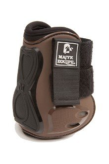 Majyk Equipe Series 3 Vented Infinity Open Front Hind Jump Boot Brown/Black Horse/Full
