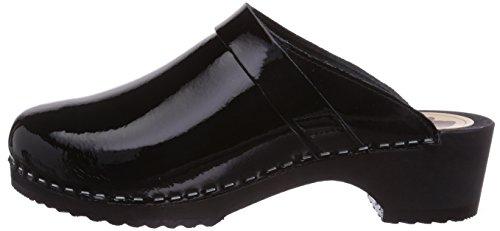 schwarz zwart schwarz Gevavi6006 Bighorn Zoccoli Lak Donna 90 Nero fYRRIgPq