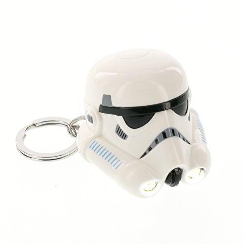 Darth Vader Helmet Star (Star Wars Rebels Stormtrooper - LED Keylight Key Chain Flashlight)