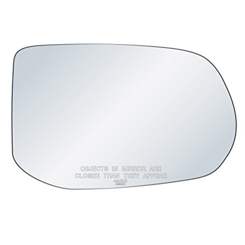 exactafit 8839R Replacement Passenger Right Side Mirror Glass Convex Lens fits 2006-2011 Honda Civic by Rugged TUFF ()