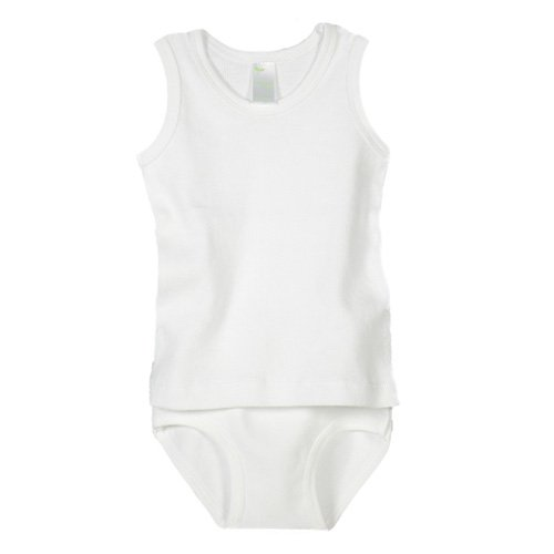Ecoland Baby Infant Organic Cotton Tank Top and Short Set