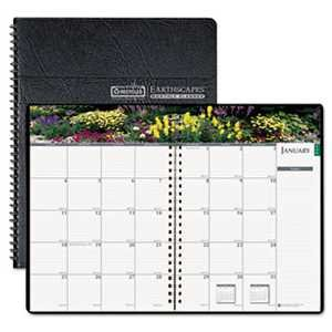 HOD264632 UNITED STATIONERS (OP) RULED PLANNER MNTHLY 7X10 2014 GARDENS OF THE WO -