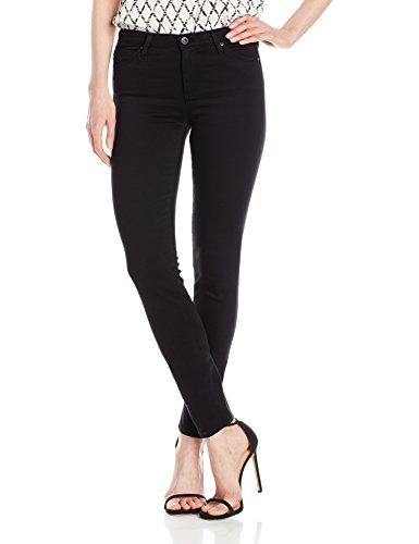 AG Adriano Goldschmied Women's The Prima Mid-Rise Cigarette Jean, Super Black, 29
