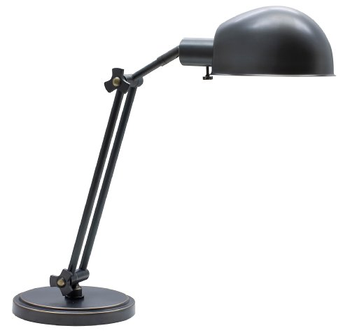 House of Troy AD450-OB Addison 1LT Adjustable Desk Lamp, Oil Rubbed Bronze Finish