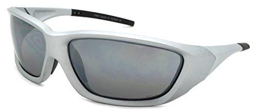 Edge I-Wear Sports Safety Sunglasses ANSI Z87+ Color Mirror Lens 570071/REV-4(MMTS.m)