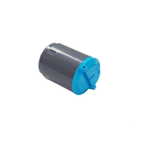 G&G 1 x Premium Color Toner Cartridge for Samsung CLP-300/CLX2160 (CLP-C300A), Cyan, Page Yield: 1K