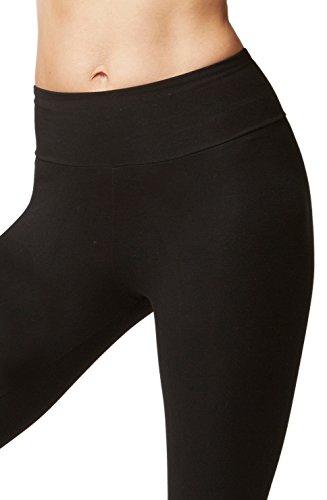 8ae5c2d3630ef TLC Sport UK Lightweight Slimming Shaping Compression Yoga Trousers Pants  Black