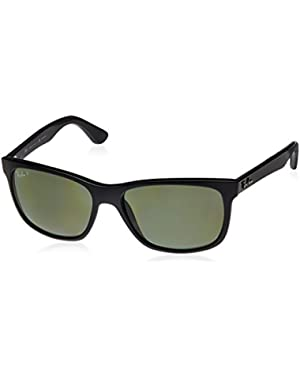 Men's RB4181 Square Sunglasses