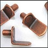 WIDGETCO 1/4'' Antique Bronze ''L'' Shelf Pins(QTY 5,000)