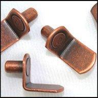 WIDGETCO 1/4'' Antique Bronze ''L'' Shelf Pins(QTY 5,000) by WIDGETCO