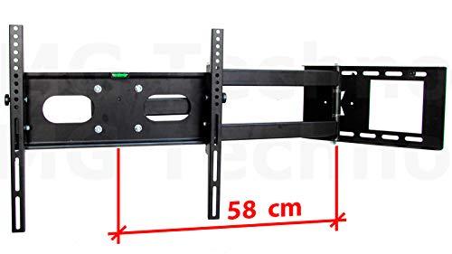 TV Soporte de Pared abatible, Distancia a la Pared: 65 cm, Extensible, TV hasta 55 Pulgadas: Amazon.es: Electrónica