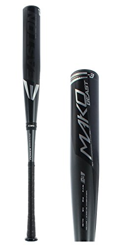 Easton BB17MK Mako Beast Comp 3 BBCOR Baseball Bat, 31'/28 oz