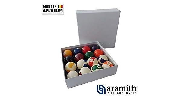 Aramith – Bolas de Billar, a121r, Multicolor: Amazon.es: Juguetes y juegos