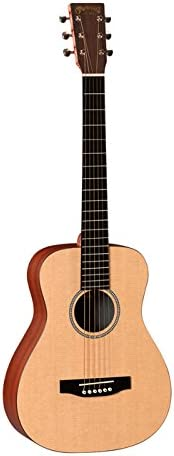 Martin X Series 2015 LXME Little Martin Acoustic-Electric Guitar Natural