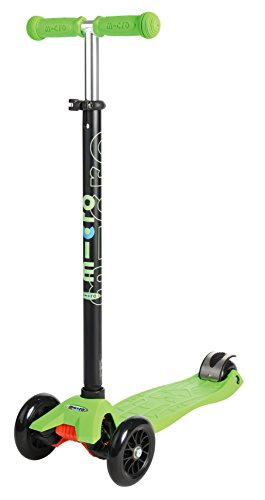 Maxi Micro Scooter - Green with T-bar