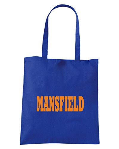 Borsa Shopper Royal Blu WC0773 MANSFIELD