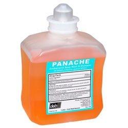 Deb 77007 Shower Soap, Commercial-Grade Panache Spa Body Wash & Shampoo, Attacks Dangerous Viruses (4/CS)