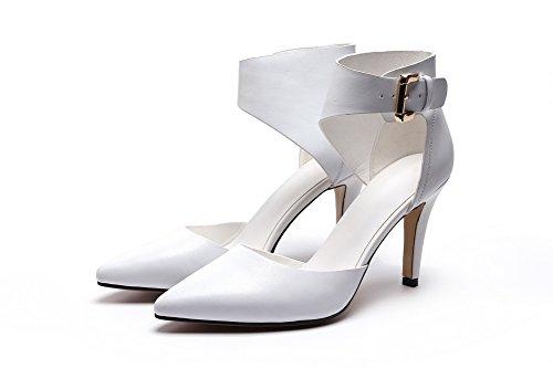 1to9, Sandales Femmes, Blanc (blanc), 35